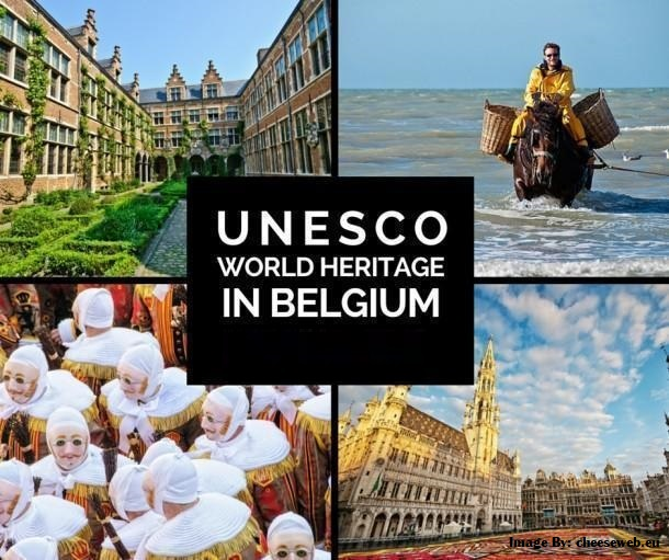Take A Tour To The Top UNESCO World Heritage Sites In Brussels, Belgium