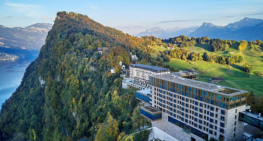 Bürgenstock with professional chauffeurs