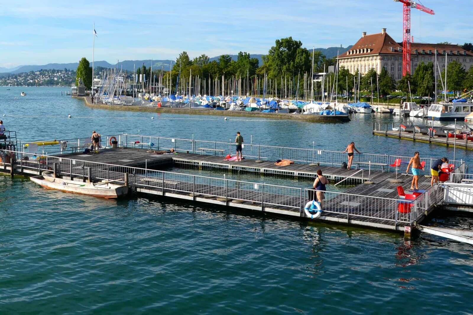 Zurich's Enge is the perfect location if you are traveling