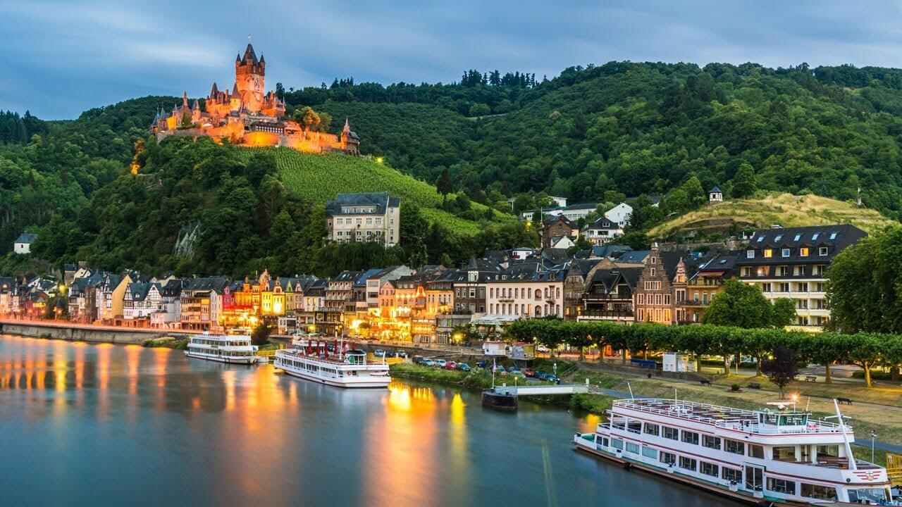 Get Relax On Rhine River