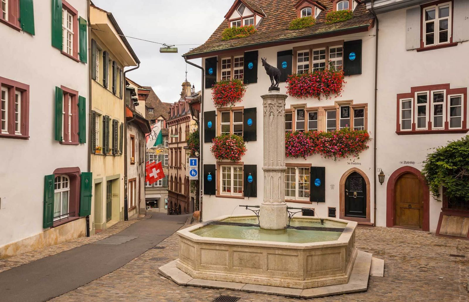 Take a Walk in Basel Old Town