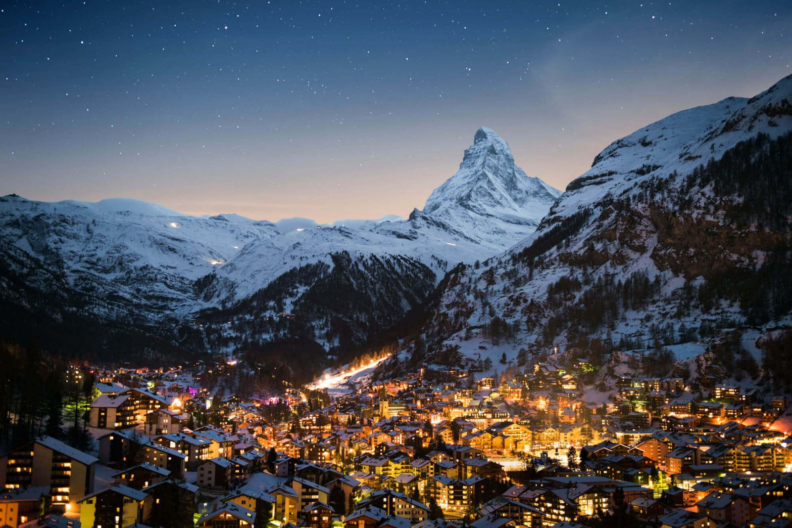 chauffeurs and chauffeured limousine services in Zermatt